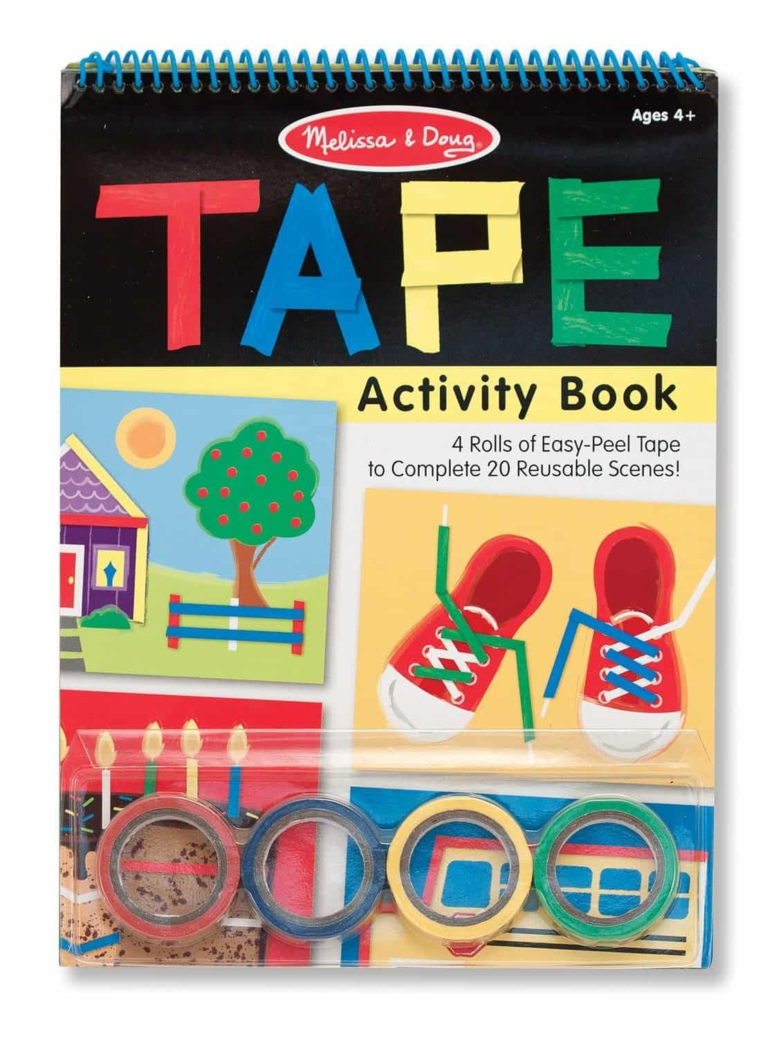 10 awesome ways to entertain your kids on a roadtrip tape activity book