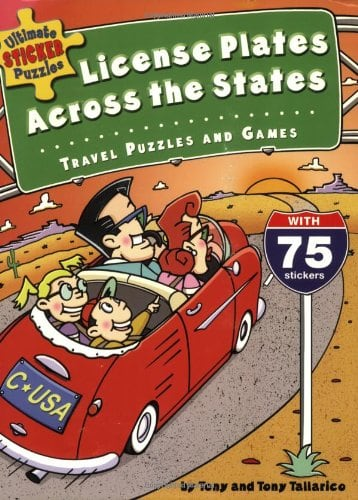 10+ Awesome Ways to Entertain your Kids on a Roadtrip: Ultimate Sticker Puzzles   www.thepinningmama.com