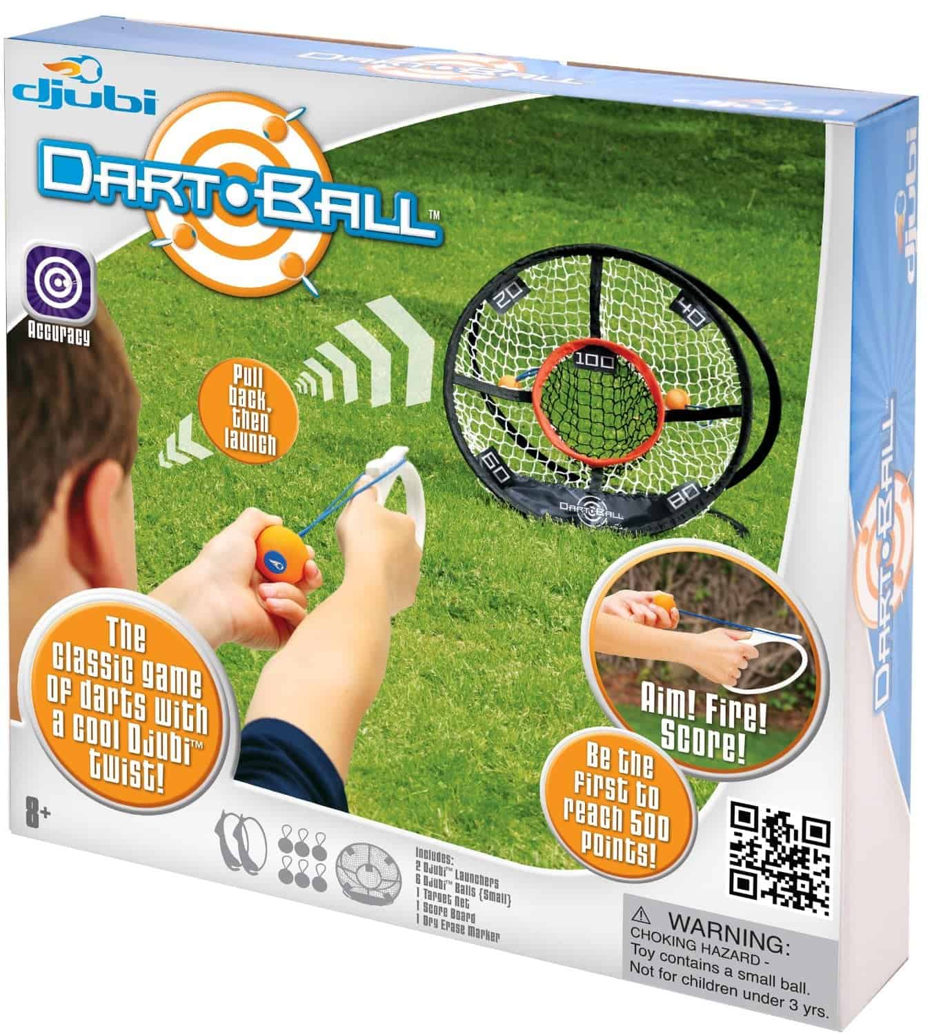 10+ Crazy Fun Outdoor Games Perfect for a Backyard Barbecue: Djubi Dart Ball | www.thepinningmama.com