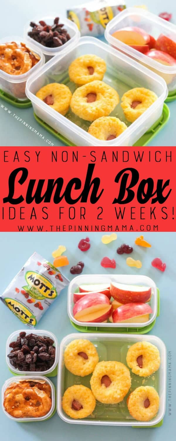 And these non-sandwich lunch ideas are well, let's just say that if someone was willing to make me any one of these recipes for lunch, I would throw down .