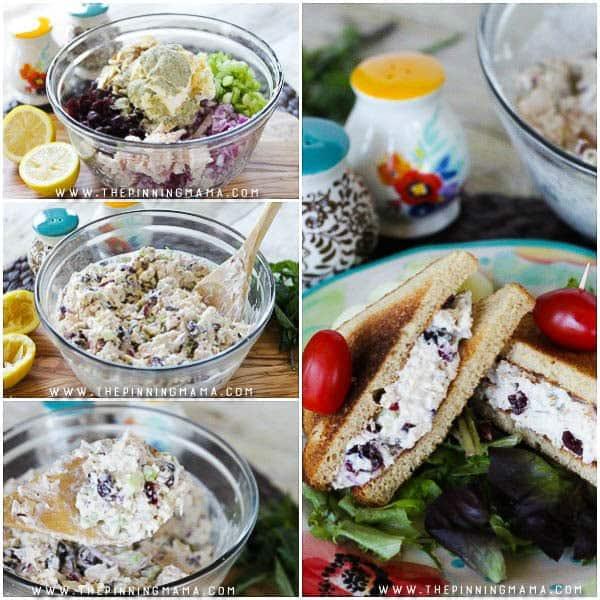 Cranberry Almond Chicken Salad The Pinning Mama