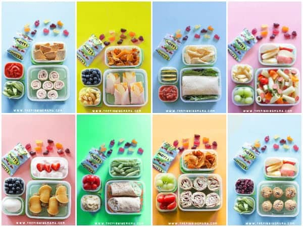 "Lunchbox Ideas For Toddlers And Preschoolers. by Holley Grainger, MS, RD. My girls, Ellie and Frances, tend to be ""choosy"" when it comes to what they eat. But I've found that lunch is definitely when they eat the most food, as well as the best variety. Maybe it's from ."