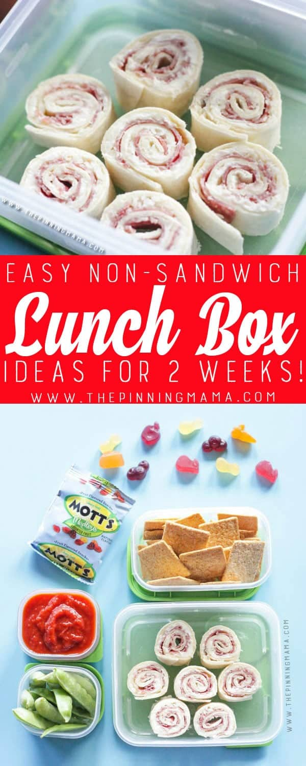 2 weeks of no sandwich lunch box ideas kids will love no repeats no 4 pizza roll up lunch box idea forumfinder Images