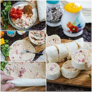 Creamy Taco Chicken Roll Ups