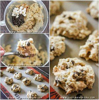 Thick & Chewy S'mores Cookie Recipe