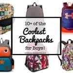 10+ Coolest Backpacks for Boys!