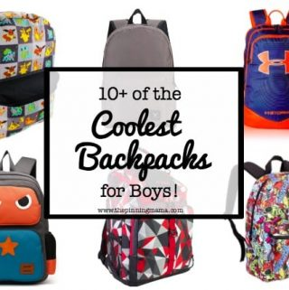 10+ Coolest Backpacks for Boys!