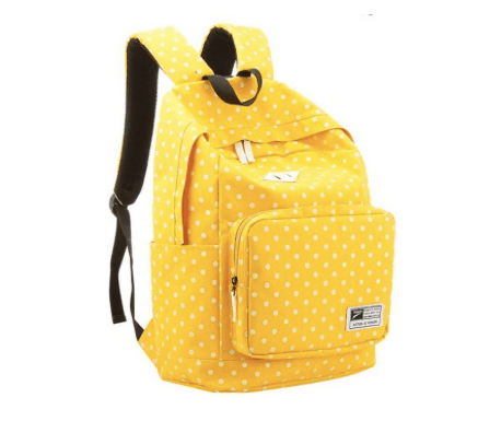 10+ Coolest Backpacks for Girls: Bright| www.thepinningmama.com