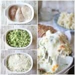 Broccoli Alfredo Chicken Bake Recipe: Easy + Delicious = Perfect dinner!! Only one dish and a few ingredients and you come out with a hot fresh super delicious dinner. This Easy Broccoli Alfredo Chicken Bake Recipe is perfect when you are looking for easy weeknight dinner ideas. Add this to your weekly meal plan!