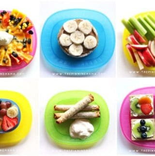 10 Quick & Easy After School Snack Ideas