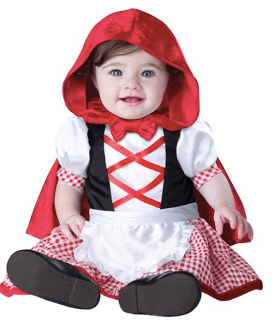 10 cutest halloween costumes for baby girl red riding hood wwwthepinningmama