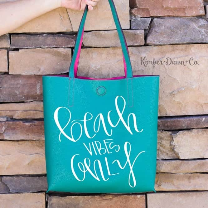 Beach Vibes Only - Free Cut File for Silhouette CAMEO + Cricut crafts