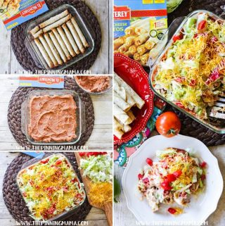 Chicken Taquito Casserole Recipe