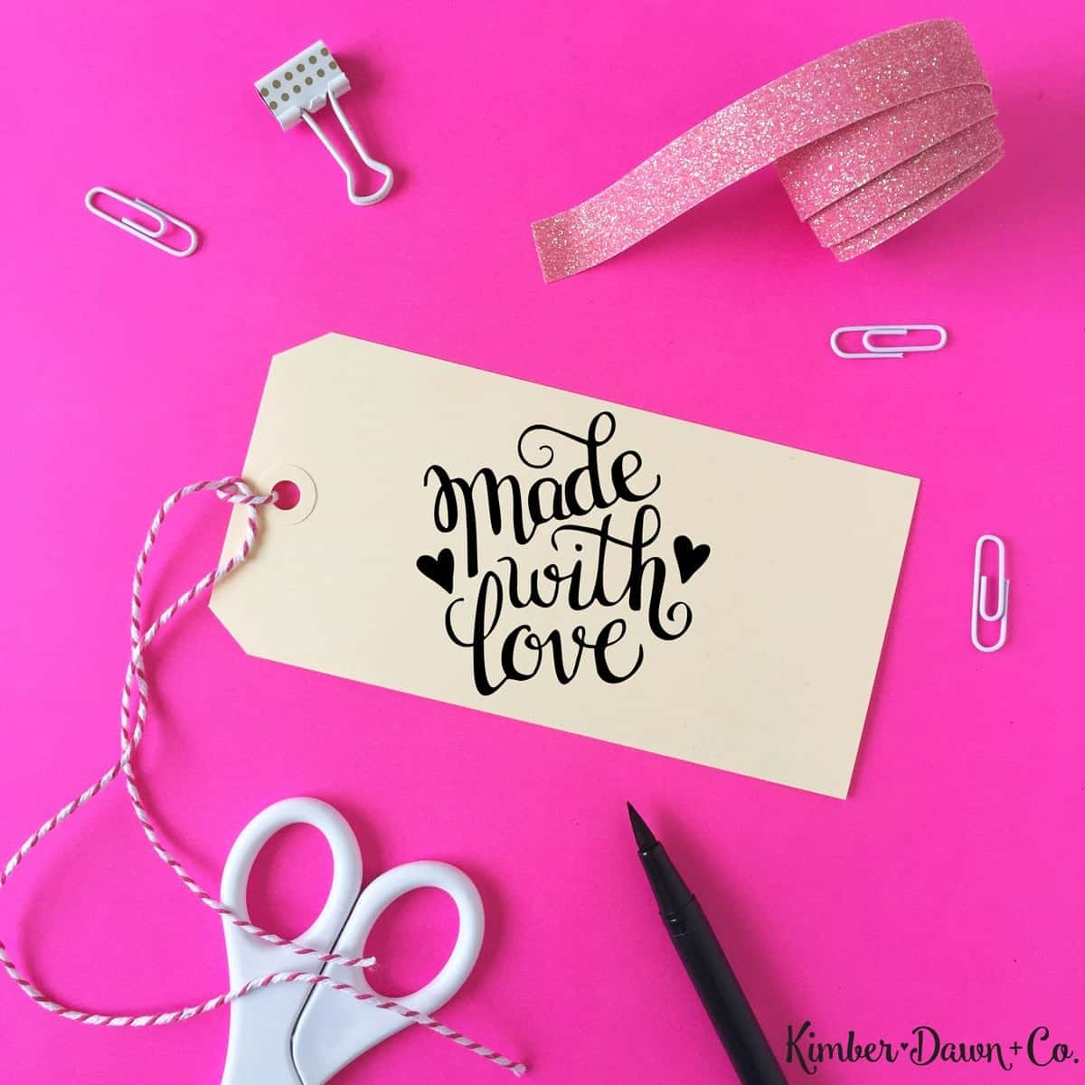 15 Gorgeous FREE Hand Lettered Cut Files! • The Pinning Mama