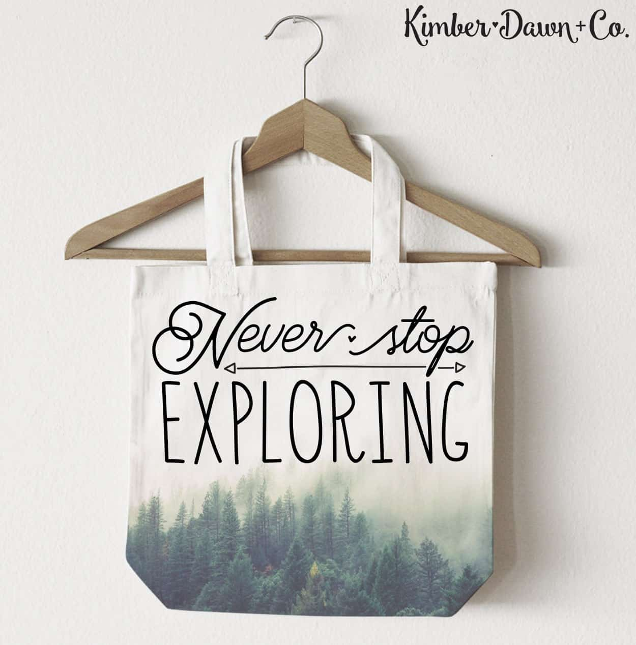 Never Stop Exporing - Free Cut File for Silhouette CAMEO + Cricut crafts