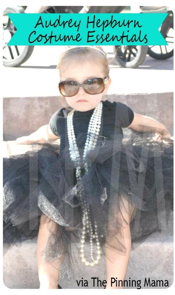 10+ Adorable Tutu Halloween Costumes: Audrey Hepburn | www.thepinningmama.com
