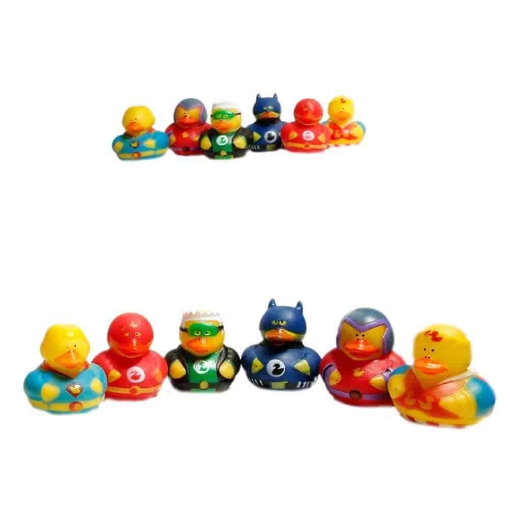10+ Great Halloween Treats to Give out that Aren't Candy: Rubber Ducks | www.thepinningmama.com