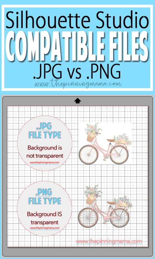 File Types Using Dxf Jpg Png Eps And Svg In Silhouette Studio Silhouette Boot Camp Lesson 1 The Pinning Mama