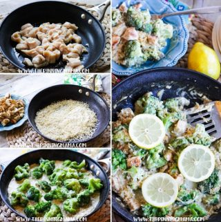 Creamy Lemon Chicken and Rice Recipe