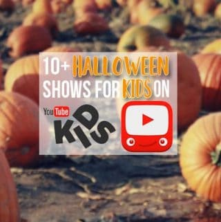 10+ Halloween Shows for Preschool Kids on YouTube!