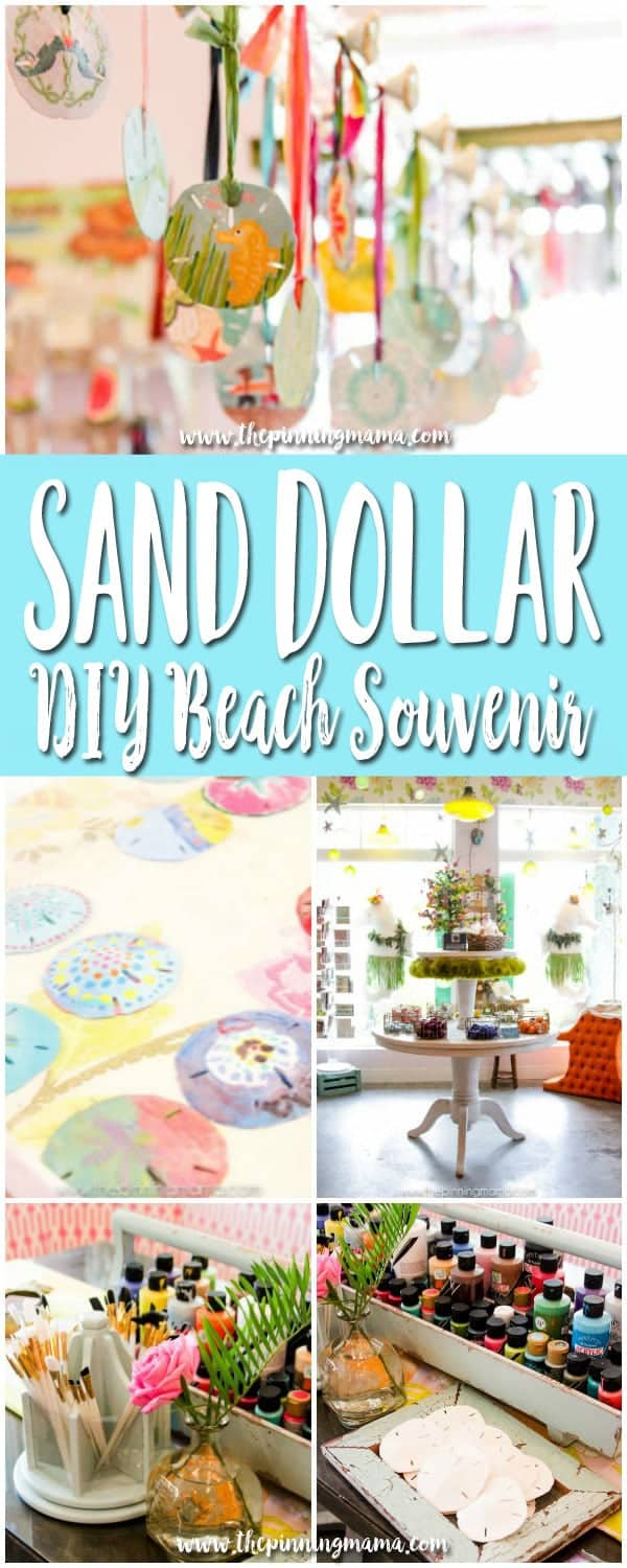 Paint your own Sand Dollar for a DIY Souvenir!