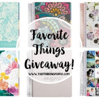 2016 Favorite Things + GIANT Giveaway