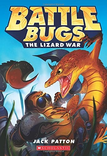 10+ Best Chapter Books for Boys: Battle Bugs| www.thepinningmama.com