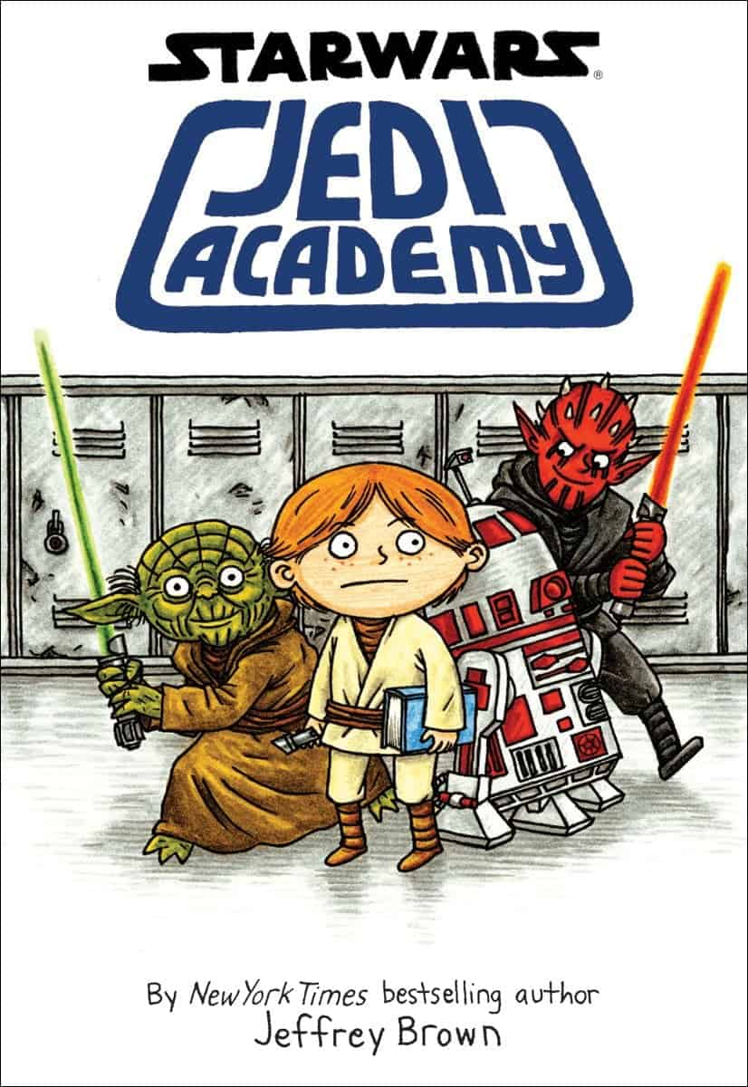 10+ Best Chapter Books for Boys: Jedi Academy | www.thepinningmama.com