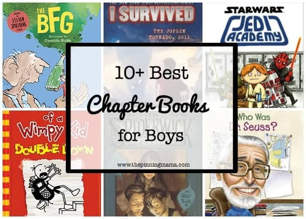 10 Best Chapter Books For Boys The Pinning Mama