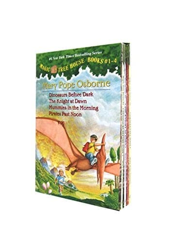 10+ Best Chapter Books for Boys: Magic Tree House | www.thepinningmama.com