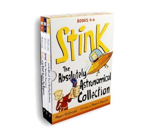 10+ Best Chapter Books for Boys: Stink | www.thepinningmama.com