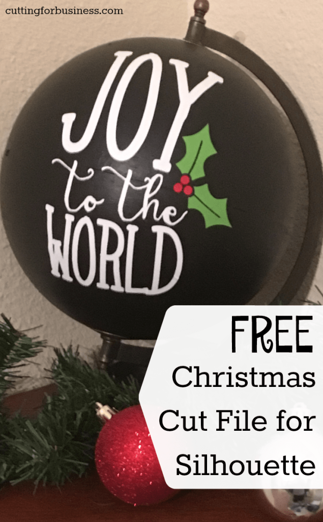 Hanging Christmas Ornaments Silhouette.10 Free Christmas Silhouette Cut Files The Pinning Mama