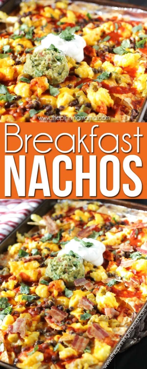 Bacon Egg Breakfast Nachos Recipe