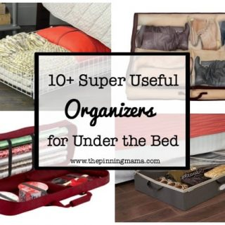 10 Super Useful Under the Bed Organizers
