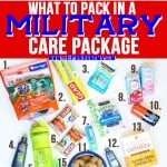 What to Pack in  a Military Care Package