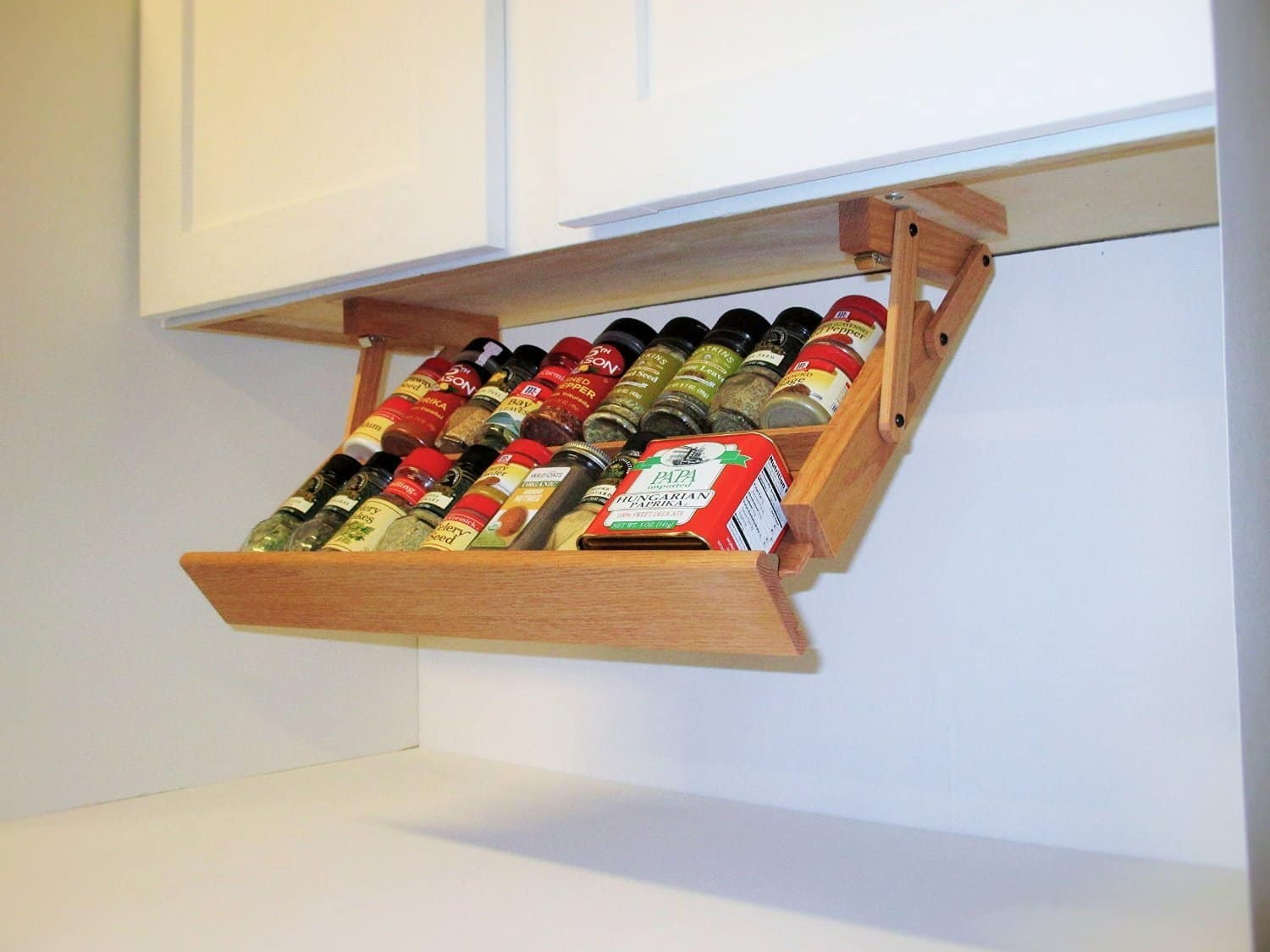 wall rack hanging wine spice for racks cabinets kitchen by cabinet woodandspoolstudio l
