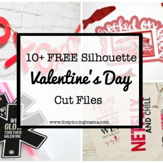 15+ Free Valentine's Day Silhouette Cut Files