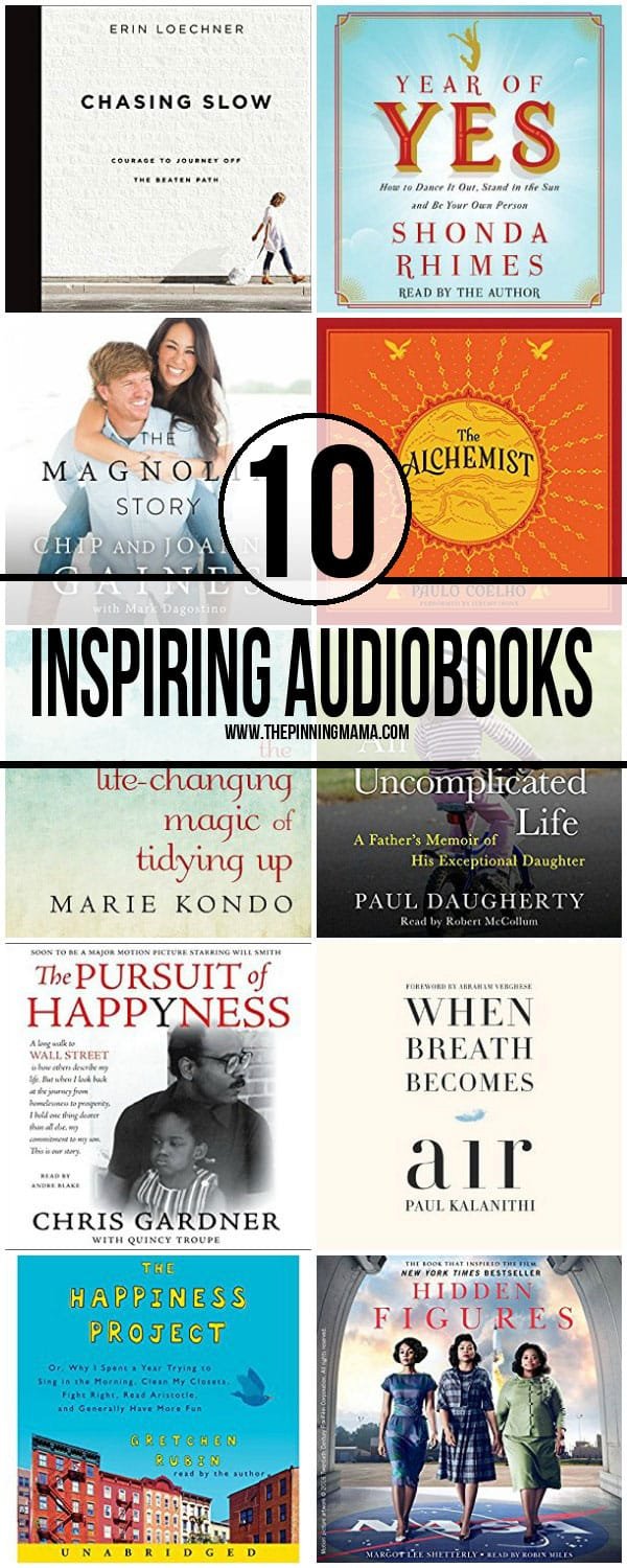 10 Inspirational Audiobooks