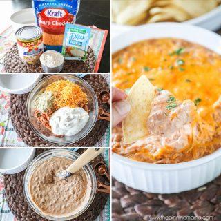 Cheesy Ranch Bean Dip Recipe