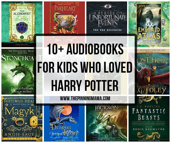 Audiobooks for kids who loved reading Harry Potter