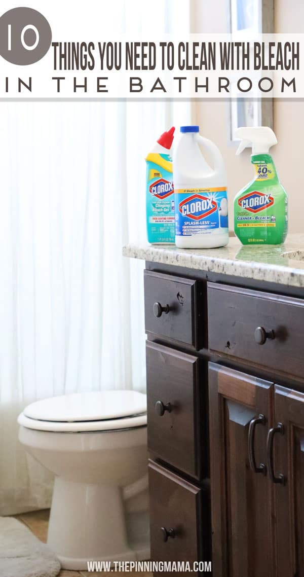 Marvelous 10 Things To You Need To Clean With Bleach In The Bathroom Inzonedesignstudio Interior Chair Design Inzonedesignstudiocom