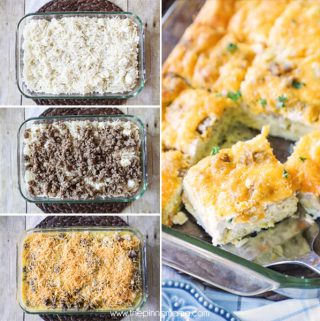 Sausage, Egg & Cream Cheese Breakfast Casserole Recipe