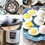How to make hard boiled eggs in the Instant pot! They peel so easy!