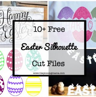 10 Free Easter Silhouette Cut Files