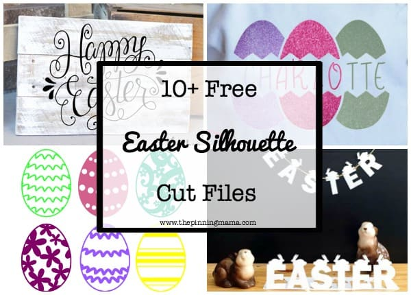 printable easter silhouette craft 10 free easter silhouette cut files the pinning 5288