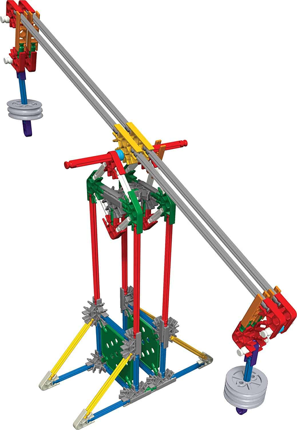 10+ Super Entertaining Stem Toys for Kids: KNEX Education | www.thepinningmama.com