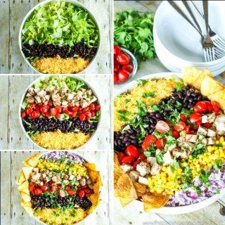 Skinny Southwestern Salad Recipe