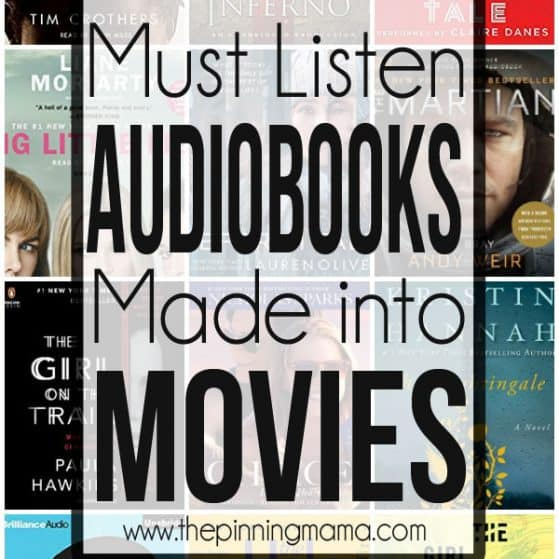 What to listen to on Audible: Audiobooks that were made into movies