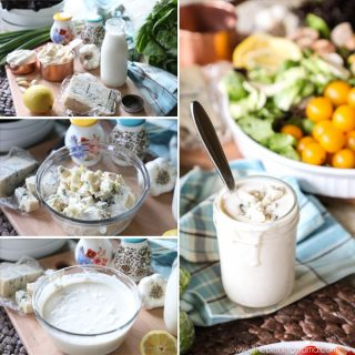 Simple Creamy Gorgonzola Dressing Recipe