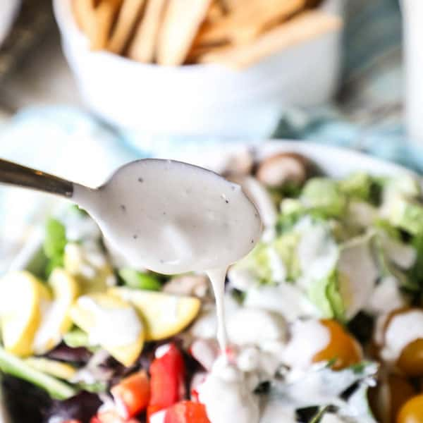Creamy Gorgonzola Dressing Recipe for a Salad